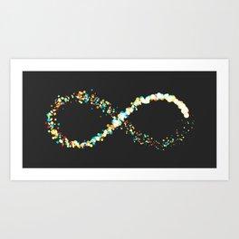 Exploding Infinity 02 Art Print
