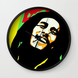 Robert Nesta Marley Wall Clock