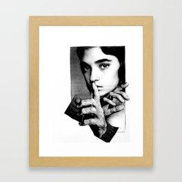 HAND-EYE COORDINATION No.1 Framed Art Print