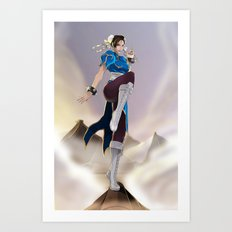 Strongest woman in the world! Art Print