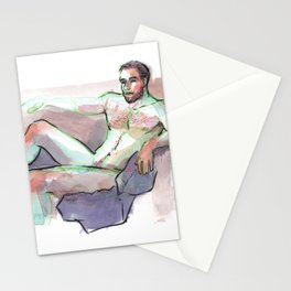 MAC, Nude Male by Frank-Joseph Stationery Cards
