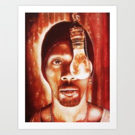 The RZA Art Print
