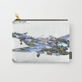 Macross AirCraft VF-1 Valkyrie Carry-All Pouch
