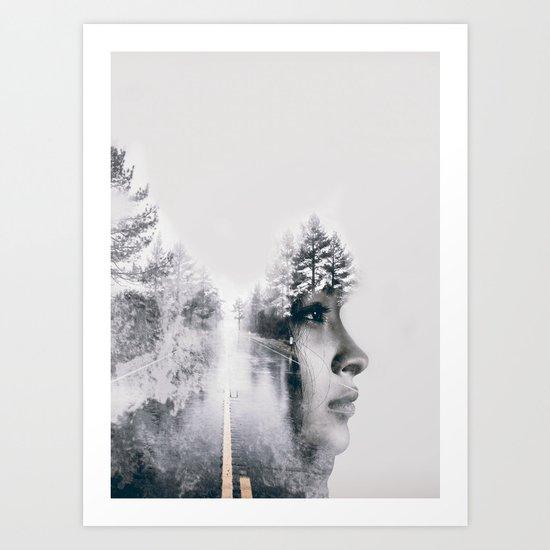 ROAD 3 Art Print