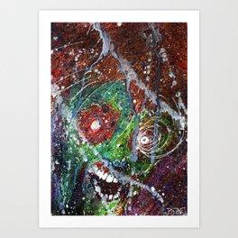 Fear Equals Rage Art Print
