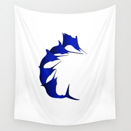 BILLFISH SLAM GRAPHIC Wall Tapestry