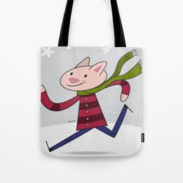 Blustery Day Tote Bag