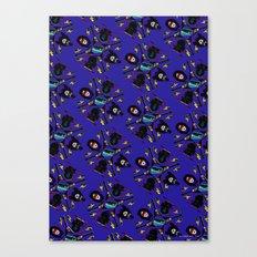 pop pattern_heavy metal Canvas Print