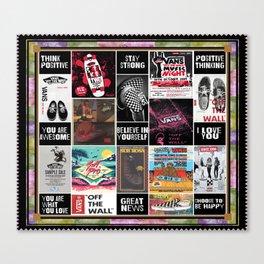 Vans Graphic Believe In Yourself Canvas Print