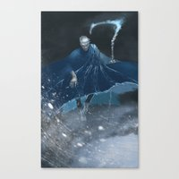 jack frost Canvas Prints featuring Jack Frost by vicious mongrel