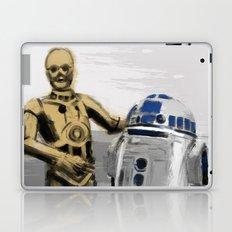 C3PO & R2D2 Laptop & iPad Skin
