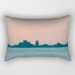 Lakeside Glow Rectangular Pillow