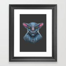 Targ Warrior Framed Art Print