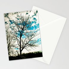Bare Tree & Clouds Stationery Cards