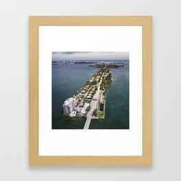 Venetian Causeway Framed Art Print