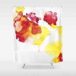 Vuur II Shower Curtain