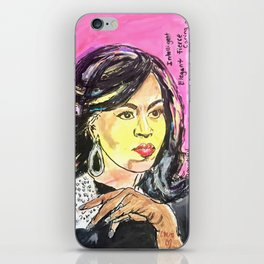 I am Woman: Michelle Obama iPhone Skin