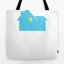 Home Alone. Tote Bag