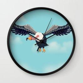 Friendly Vulture Wall Clock