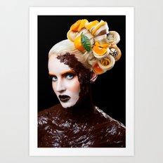 Chocolate Orange Art Print