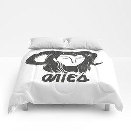 Aries Girl Comforters