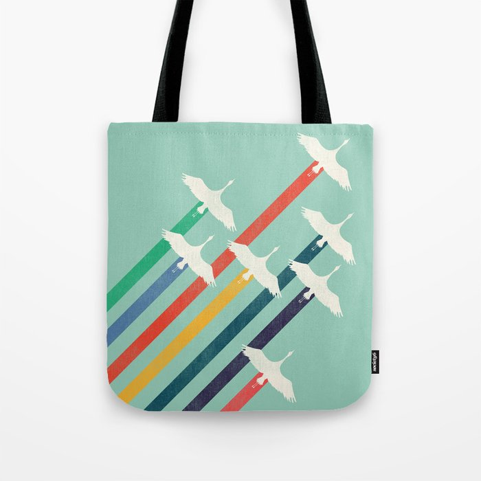 The Cranes Tote Bag