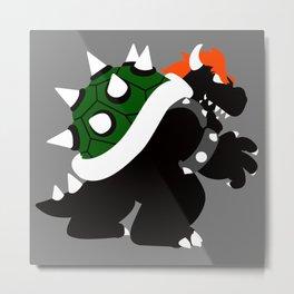 Nintendo Forever - Bowser King of the Koopas Metal Print