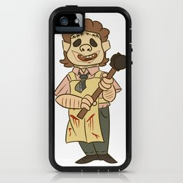 Lil Leatherface iPhone Case