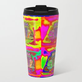 CRAZY NUT OLD CARS Travel Mug