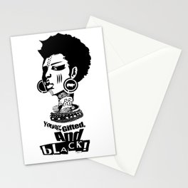 Young Gifted And Black Stationery Cards