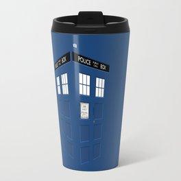 Tardis Blue Travel Mug