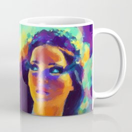 The Girl On Fire Coffee Mug