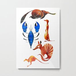 Australian animals 2 Metal Print
