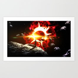 Earth: First Chapter Art Print