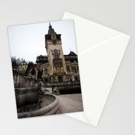Peles castle, Romania, Brasov, fountain details Stationery Cards