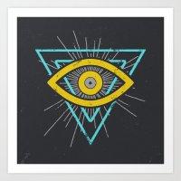 illuminati Art Prints featuring Illuminati by David Elliott | Nocturnal