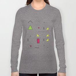 Geometric Storm: Take 6 Long Sleeve T-shirt