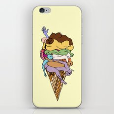 Human Ice Cream iPhone & iPod Skin