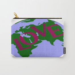 World of Love Carry-All Pouch