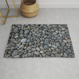 Gray pebbles Rug
