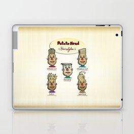 Popular Potato Head Hairstyles Laptop & iPad Skin