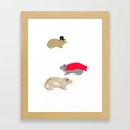 Hammies Framed Art Print