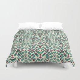 Bohemian Boho Ornament Pattern Duvet Cover