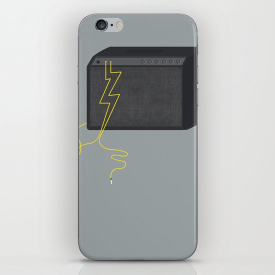 Electric/Acoustic Lightning iPhone & iPod Skin
