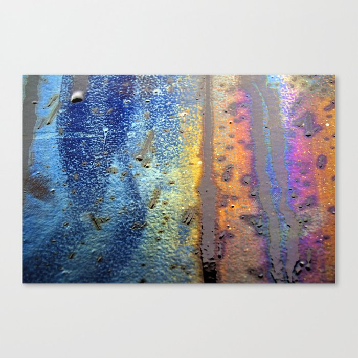 (t)Rainbow Canvas Print