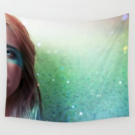 Glitter and grease. Wall Tapestry