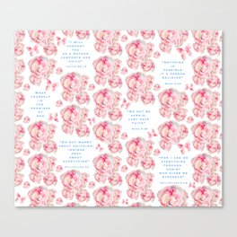 Wrap yourself in the promises of God Canvas Print