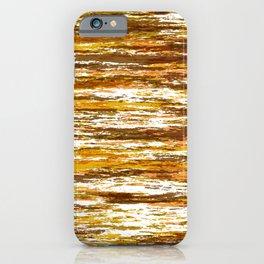 Seventies Woodsy Grains  iPhone Case
