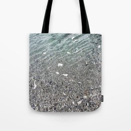 sparkling lake Tote Bag