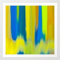 Strong Colors Rising Art Print